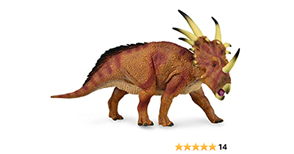 Styracosaurus Dinosaur Toy Figure Educational Model Christmas Gift for Boy