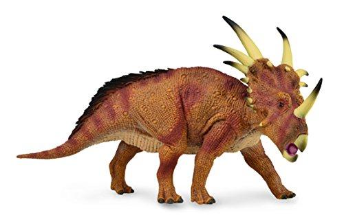 (Collecta Prehistoric Life Styracosaurus - Deluxe Vinyl Toy Dinosaur Figure)