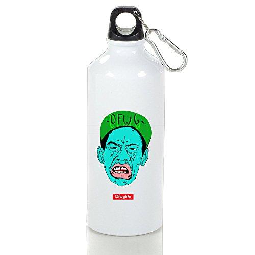 POOZ Tyler OFWG Hip Hop Unique Sport Bottle With Carabiner Hook