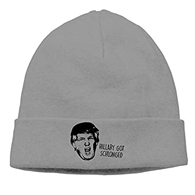 COREI779 Donald Trump Head Beanie Skully Cap Hat Watch Hat Ski Cap Hat DeepHeather