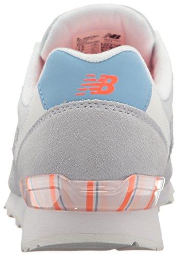 New Balance 696 Mode De Vie Sneaker Lumière Porcelaine Bleu / Blanc