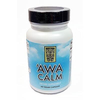KavaDotCom Premium Kava 'Awa Calm Capsules (60)