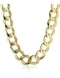 Men's 14k Gold 9mm Cuban Chain Necklace