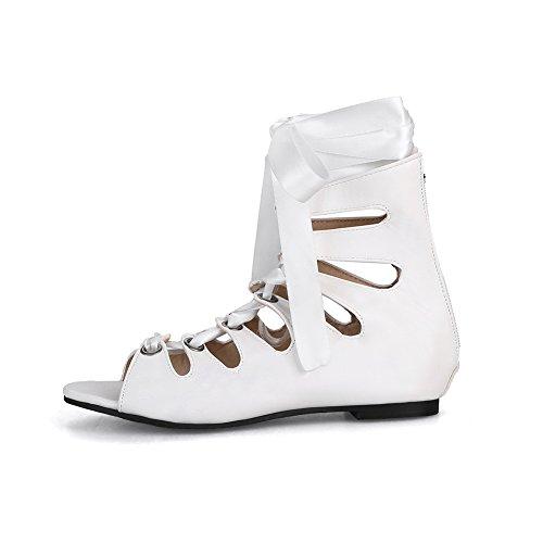 Donna AdeeSu AdeeSu Ballerine Ballerine White x84tZU