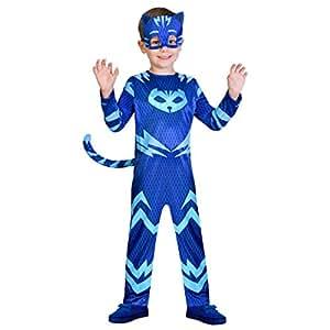 Amscan pjmasques yoyo-Catboy Deguisement, 9902951, Azul