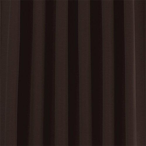 Eclipse Fresno Blackout Window Curtain Panel, 52 x 63-Inch, Black