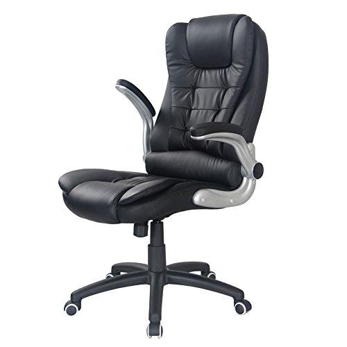 Flourish Office High Back Pu Leather Ergonomic Gaming Desk