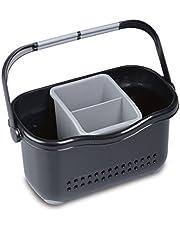 Addis Waschbecken-Aufbewahrungskorb schwarz grau