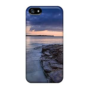 Ultra Slim Fit Hard Jeffrehing Case Cover Specially Made For Iphone 5/5s- Wonderful Scenery
