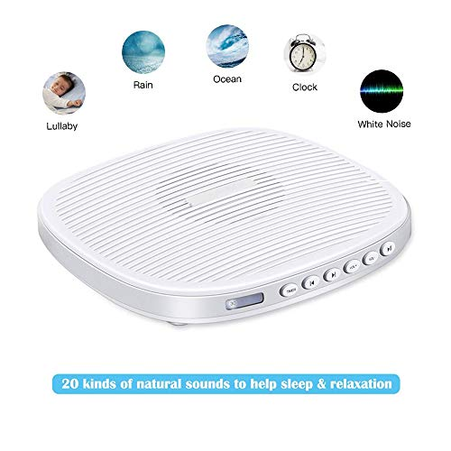 White Noise Machine, Portable Sleep Sound Therapy Machine wi