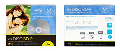 LG WH16NS40 16X M-Disc Blu-ray BDXL CD DVD Internal Burner Drive + 3pk Mdisc BD + Cyberlink Software + Cables & Screws by Produplicator (Image #2)