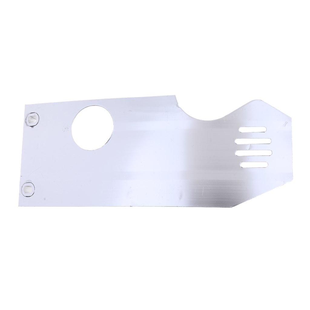 Sharplace Guardia Protezione Coperchio Protezione Bash piatta di motore di moto Pit Dirt Bike
