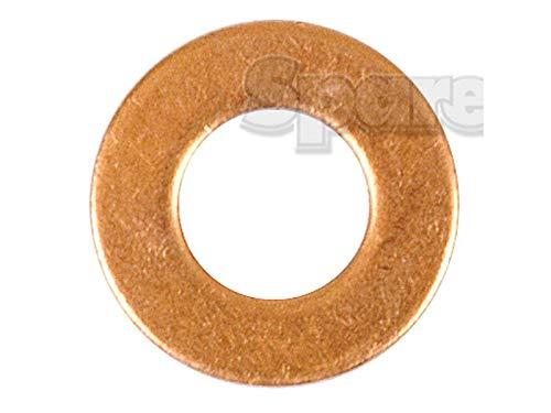 Copper Washer, ID: 1/4'', OD: 1/2''