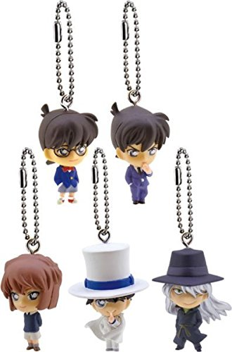Case Closed Great Detective Conan 2016 Gashapon Keychain Figure ~1.5″ – Haibara Ai