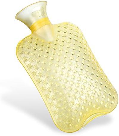 [Gesponsert]Kufl Massage-Wärmflasche aus PVC mit großer Öffnung, geruchsfrei - lindert Nacken-, Rücken- und Schulterschmerzen...