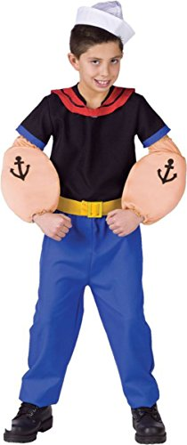 Morris Costumes Boy's POPEYE TODDLER, 3T 4T