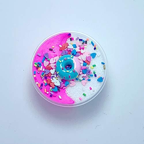 AMOFINY Baby Toys Charms Grain Ice Cream Slime Birthday Cake Slime Kids Relief -