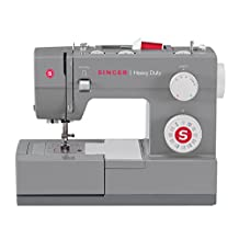 Singer 4432 Heavy Duty Extra-High Speed 32-Stitch Sewing Machine with Metal Frame and Stainless Steel Bedplate