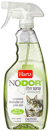 - Hartz Nodor Scented Cat Litter Spray - 17oz