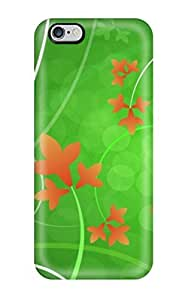 Fashion Protective Beauty Orange Case Cover For Iphone 6 Plus