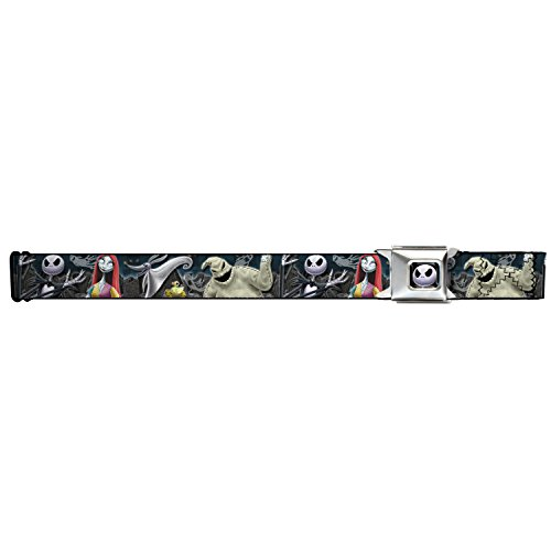 Nightmare Before Christmas 4character/cemetery Seatbelt Belt
