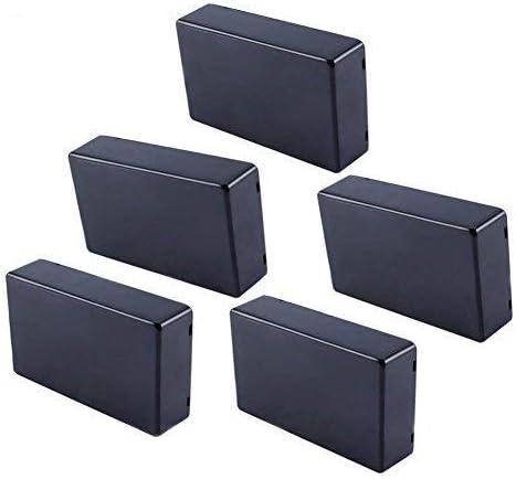 5 Piezas 100x60x25mm Proyecto de Cubierta de plástico Caja de Instrumento de Caja electrónica Caja de Conexiones de Potencia de Bricolaje: Amazon.es: Hogar