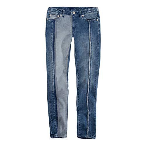 Levi's Girls' Big 710 Super Skinny Fit Jeans, Clean Blue Two Tone, ()