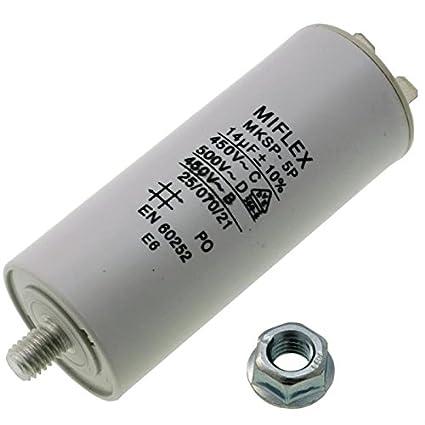 Miflex 312480/Motor de Arranque//Condensador Gris