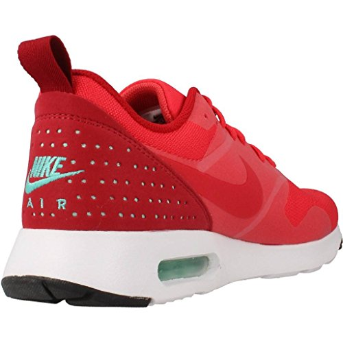 Nike Herren Air Max Tavas Laufschuhe Rot (Action Red/Action Red/Gym Red/White)