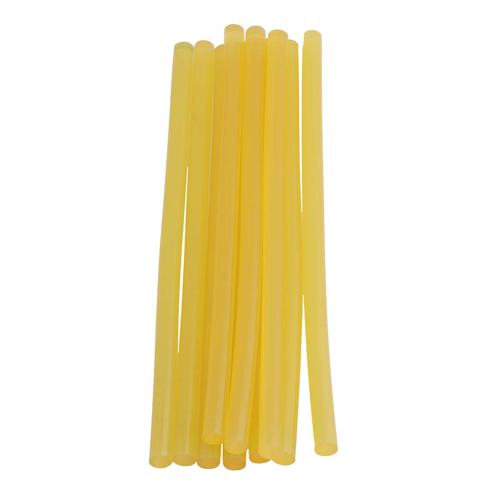 Cnbtr 11mm Diametro giallo stick di colla a caldo 2300–À500adesività 90℃ con temperatura per riscaldamento pistola per colla a caldo, confezione da 10 yqltd