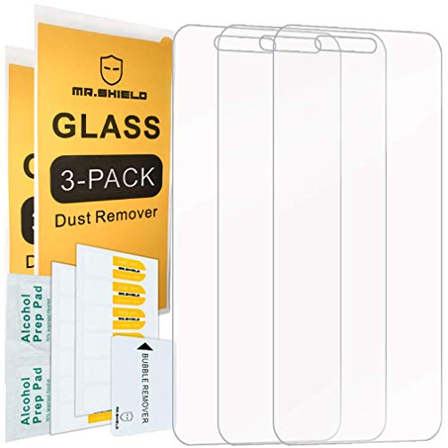 [3-Pack]-Mr.Shield for Cricket Vision [Tempered Glass] Screen Protector with Lifetime Replacement ()
