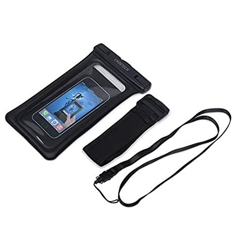 8 Plus 7,7 Plus,6s 8 S8 iPhone X 6s Plus CHOETECH Cellphone Waterproof with Armband /&Neck Strap Compatible with iPhone Xs Samsung Galaxy S9 S7 and Devices Up to 6 in Floating Waterproof Case