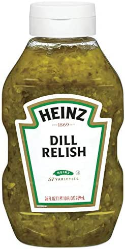 Heinz Dill Relish (26 oz Bottles, Pack of 9)