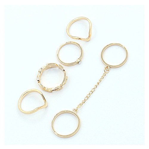 6pcs Knuckle Rings - 5