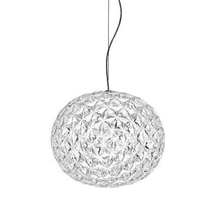 Kartell 9390/B4 Planet Lampada a Sospensione, 22W LED, 31x27 cm, Cristallo  Amazon.it Illuminazione
