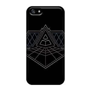 High Quality Shock Absorbing Case For Iphone 5/5s-daft Punk Alive