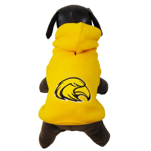 outhern Mississippi Golden Eagles Polar Fleece Hooded Dog Jacket, XX-Large (Southern Mississippi Golden Eagles Jackets)