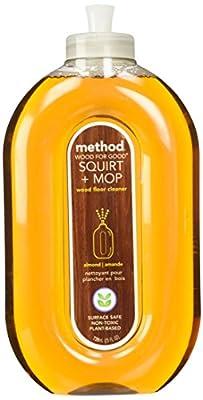 Method Squirt + Mop Hardwood Floor Cleaner, Almond, 25 Ounce