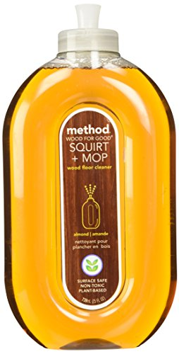 Method Squirt + Mop Hardwood Floor Cleaner, Almond, 25 Ounce