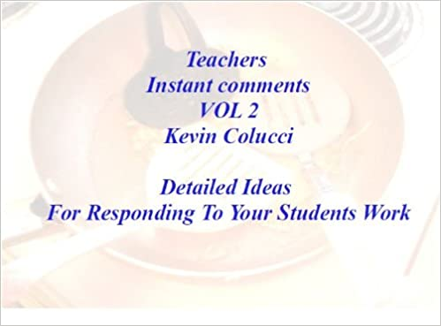Teacher Help Instant Comments vol 2 (Teachers You are welcome, Come On In)