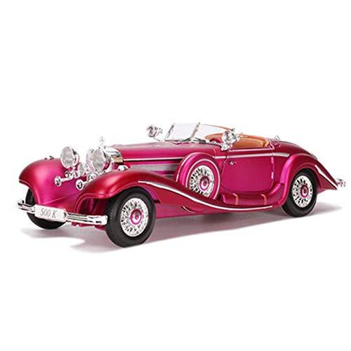 Felices compras púrpura JTWJ Modelo De Coche 1 18 18 18 Modelo De Coche De Aleación De Simulación, Tamaño  28.9X10.6X7.4CM (Color   púrpura)  muchas sorpresas