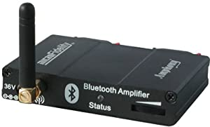 bluetooth audio receiver amplifier model 300 black home audio theater. Black Bedroom Furniture Sets. Home Design Ideas