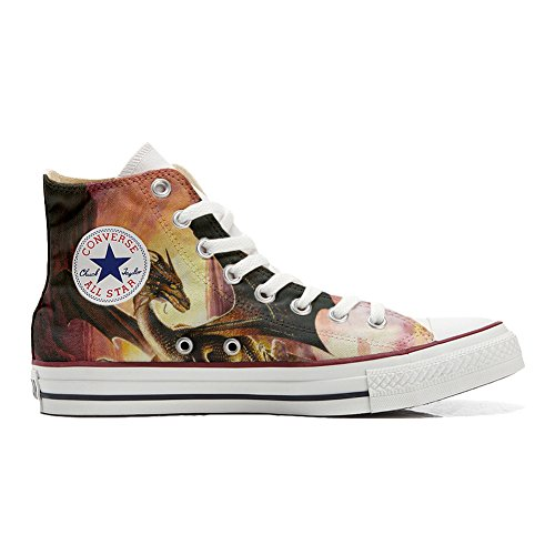 Converse producto Personalizados Dragón Zapatos Star All Handmade 1PqtHr1w