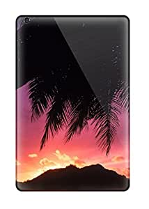 3351785J85169632 New Arrival Tropical Sunset Beach Background For Ipad Mini 2 Case Cover