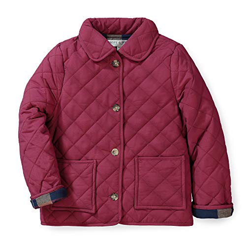 Hope & Henry Girls' Quilted Barn Jacket (Quilted Kids Jacket)