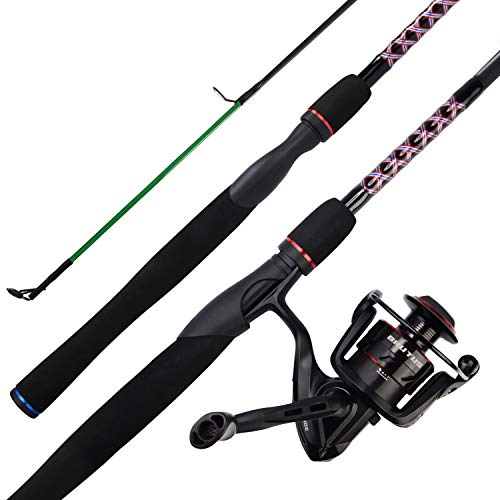 KastKing Brutus Spinning Rod and Reel Combo,5ft L Power,Moderate,2 pcs,2000 Reel (Best Rod Reel Combo Under 50)