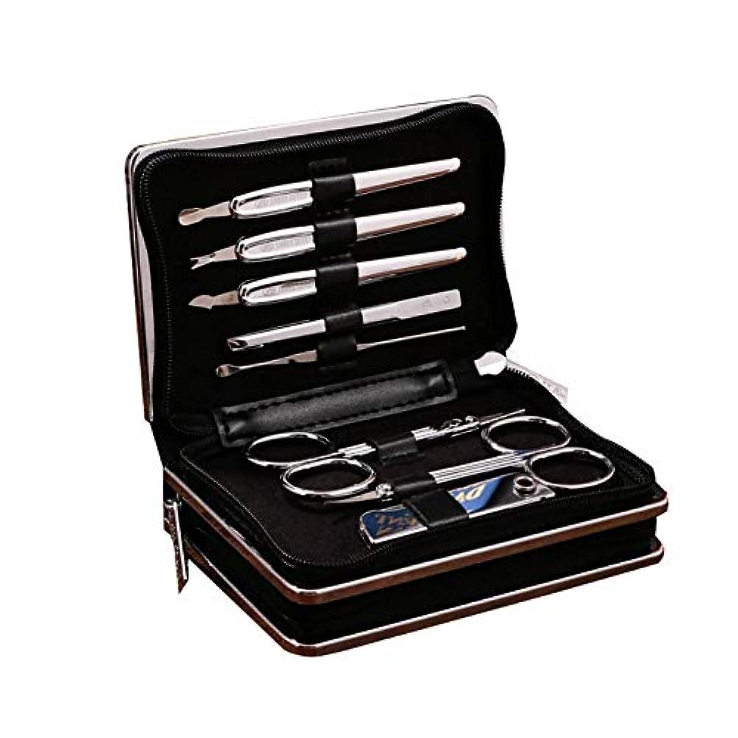 リフレッシュマングル処分したTUOFL マニキュアツールセットの14セット、毎日のニーズを満たすために完全に機能 (Color : Silver)