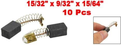 10 pcs connecteur /à sertir /à ressort type 12 x 7 x 6 mm Moteur Balais de charbon