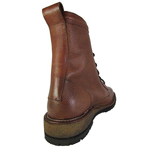 Kenneth Cole New York Mens Pass-word Snörning Bekämpa Boot Skor Konjak