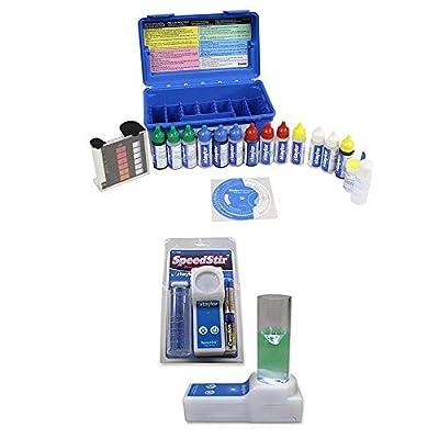 Taylor K2006 Complete Swimming Pool Water FAS-DPD Chlorine pH Alkaline Test KitNEW 9265 Magnetic Stirrer Speedstir Start-Up Pack w/Stir Bar + Batteries